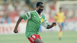 Roger Milla Cameroon World Cup 1990