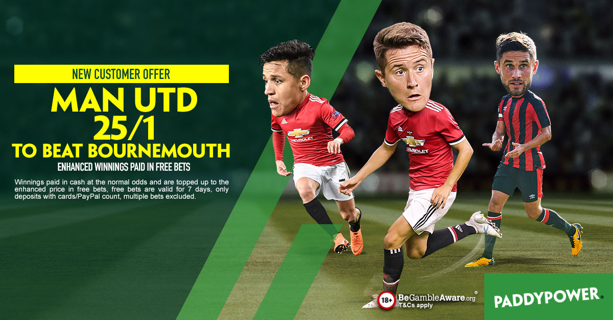 Paddy Power Man United Bournemouth