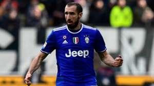 Giorgio Chiellini Udinese Juventus Serie A 05032017