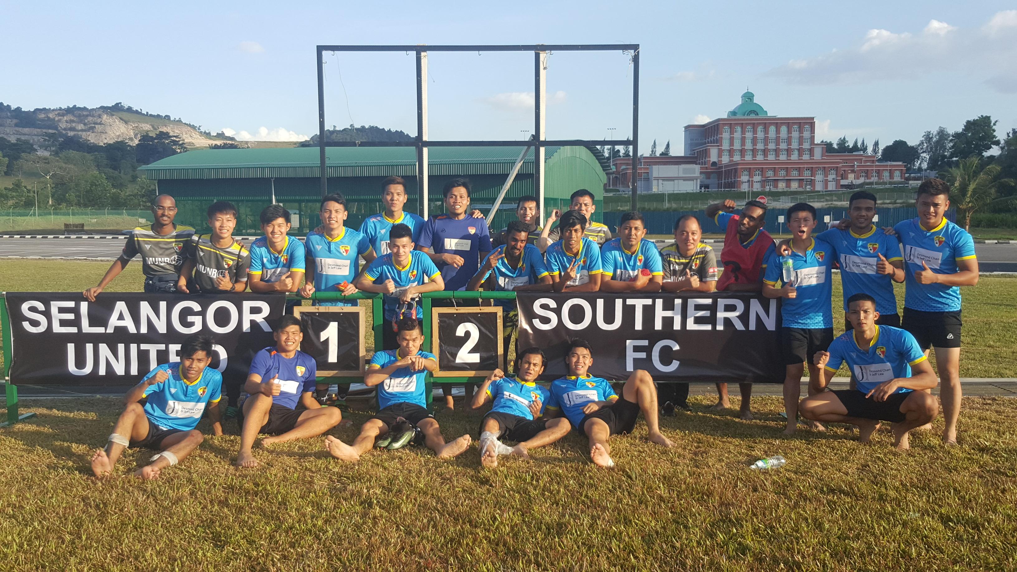 Southern FC, Malaysia FA Cup, 13022018