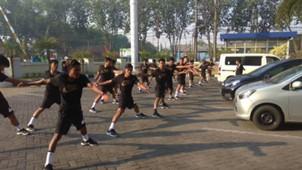 Latihan Timnas Indonesia U-16