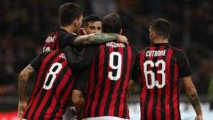 Milan Sampdoria celeb