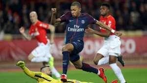 Kylian Mbappe Monaco PSG Ligue 1 26112017