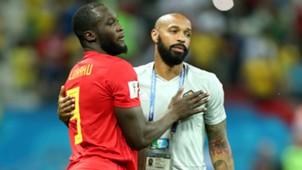 Thierry Henry Romelu Lukaku Belgium 06072018