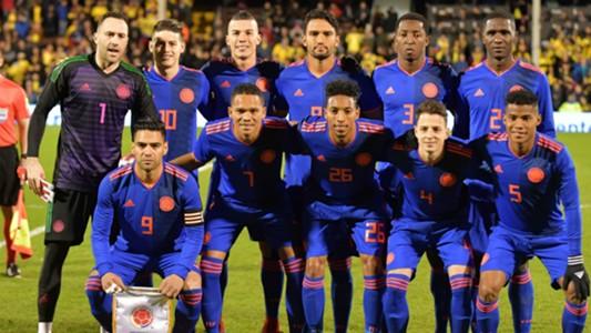 XI Seleccion Colombia Australia 27032018