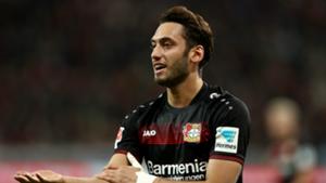 Hakan Calhanoglu Bayer Leverkusen