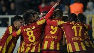 Yeni Malatyaspor goal celebration vs Galatasaray 10282018