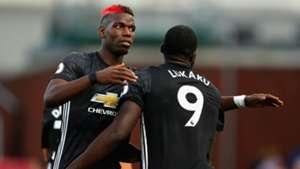 Manchester United Pogba Lukaku 09092017