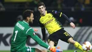 Christian Pulisic Borussia Dortmund Atalanta