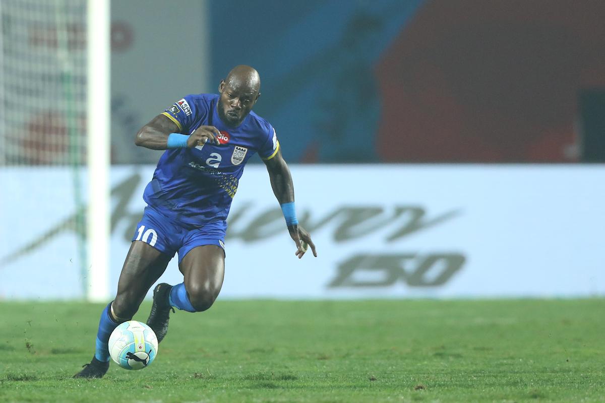 Jamshedpur FC Mumbai City Achille Emana