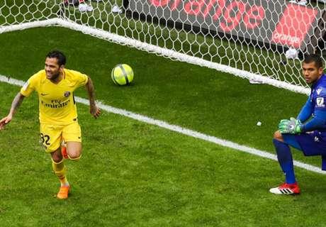 PSG'yi Dani Alves kurtardı!