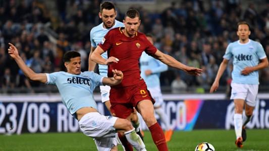 Luiz Felipe Edin Dzeko Lazio Roma