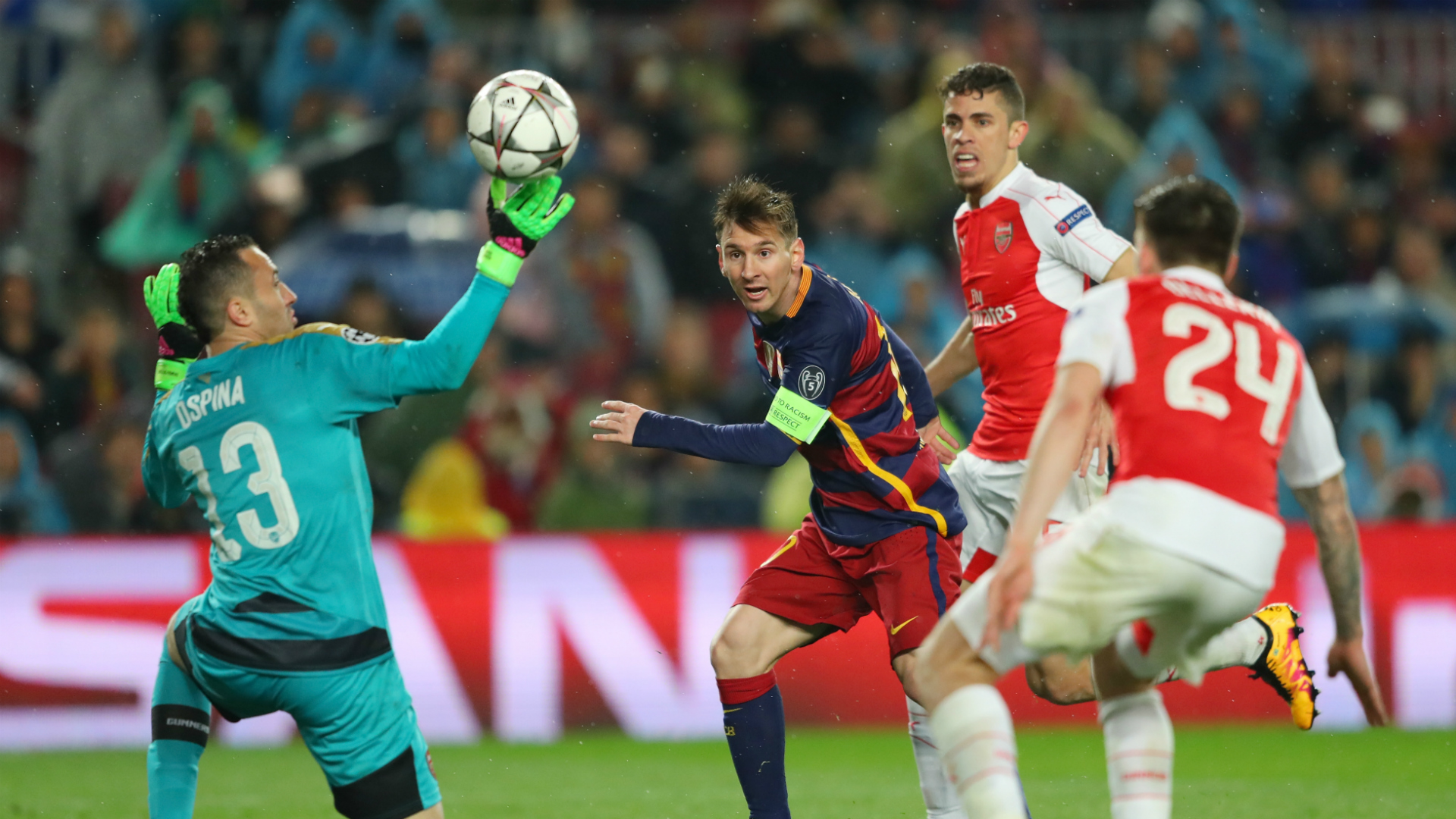 Arsenal Barcelona 2016 Champions League