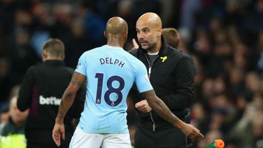 Fabian Delph Pep Guardiola Manchester City