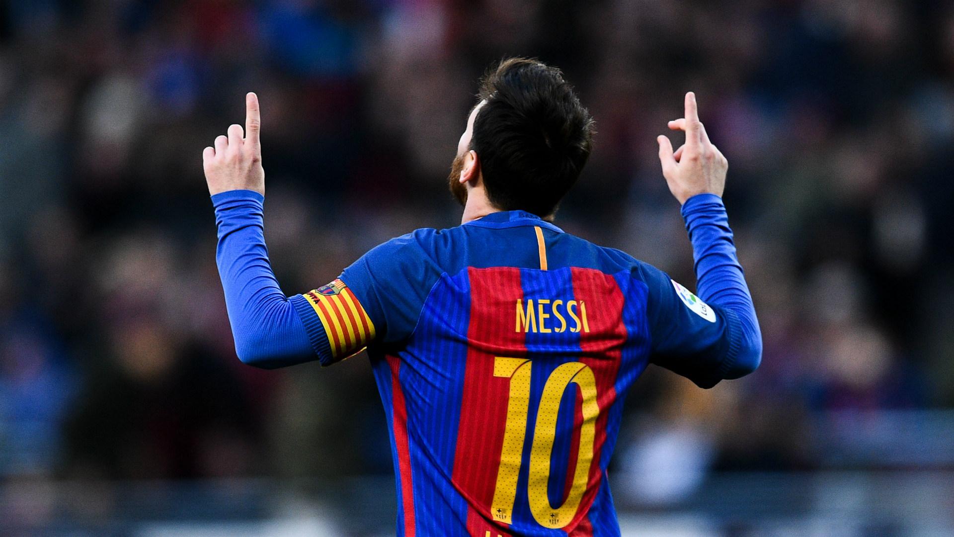 Lionel Messi Barcelona 14012017