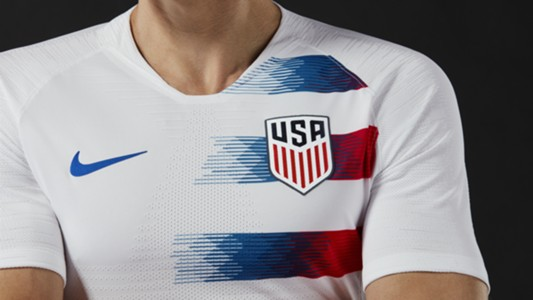 USMNT and USWNT 2018 jersey