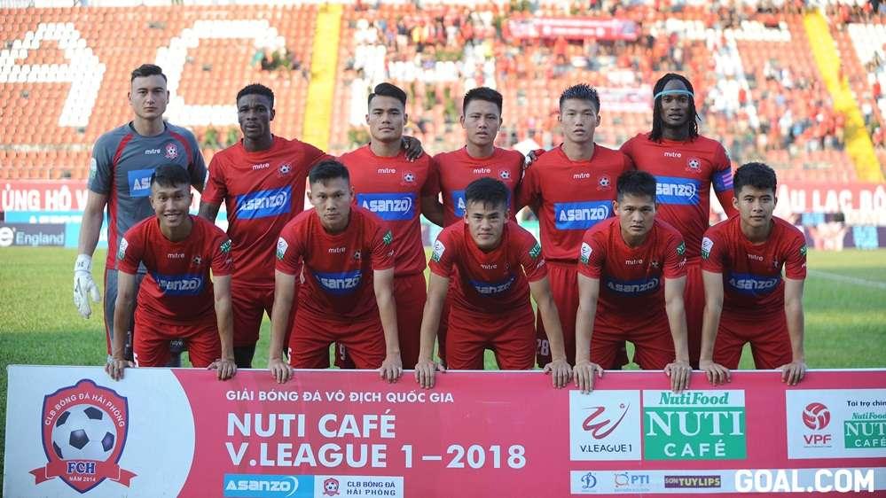 Hải Phòng Sài Gòn FC Vòng 22 V.League 2018