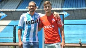 Lisandro Lopez Nicolas Tagliafico Racing Independiente 23112017
