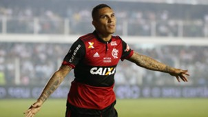 Paolo Guerrero Santos Flamengo Copa do Brasil 26072017