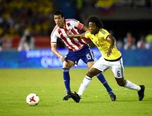 Colombia vs Paraguay Eliminatorias 05102017