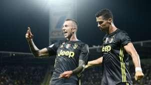 Bernardeschi Ronaldo Frosinone Juventus