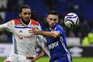 Jason Denayer Lyon Strasbourg Coupe de la Ligue 08012018