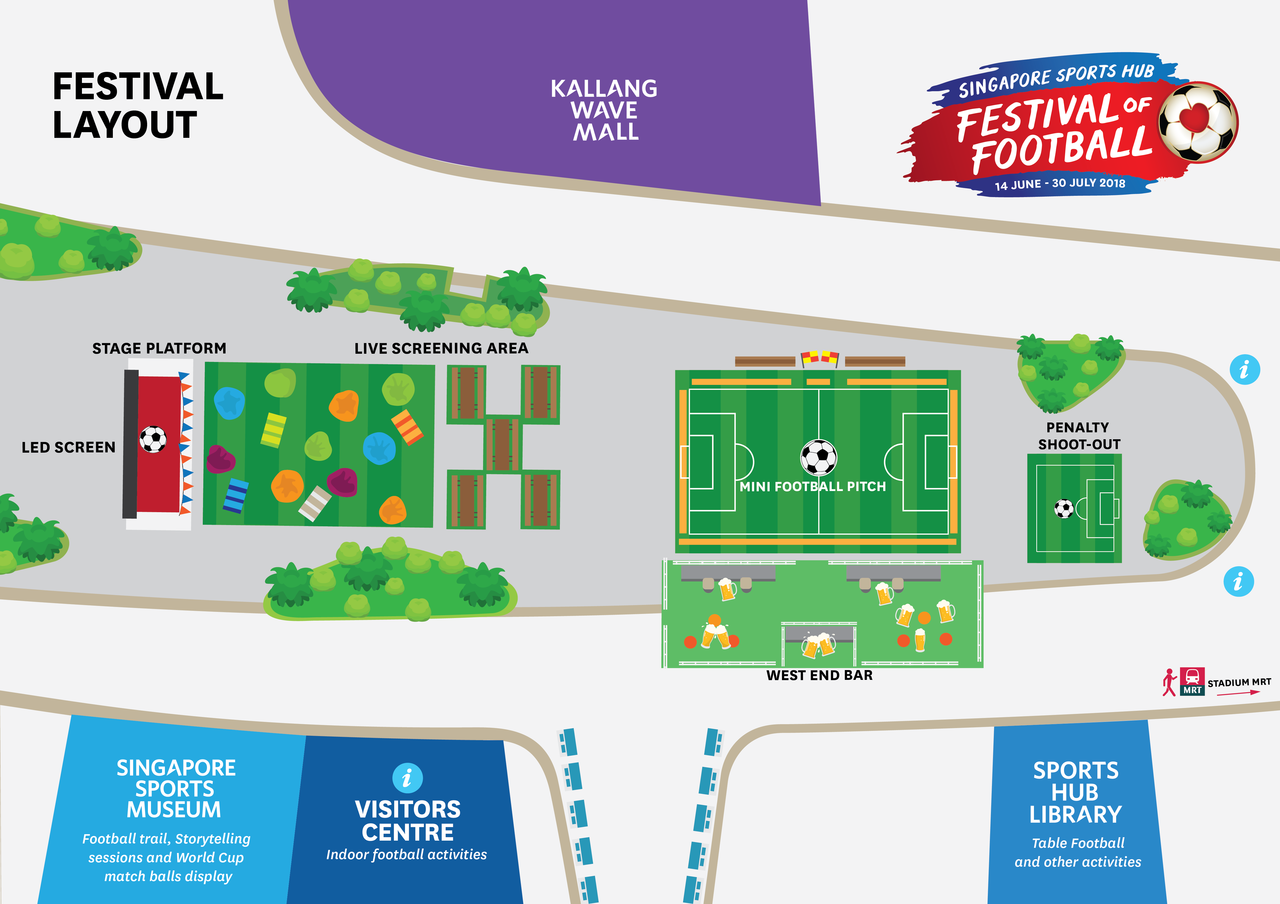 FOF event layout