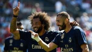 Karim Benzema Marcelo Real Madrid Celta
