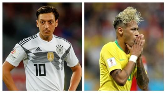 Mesut Ozil & Neymar