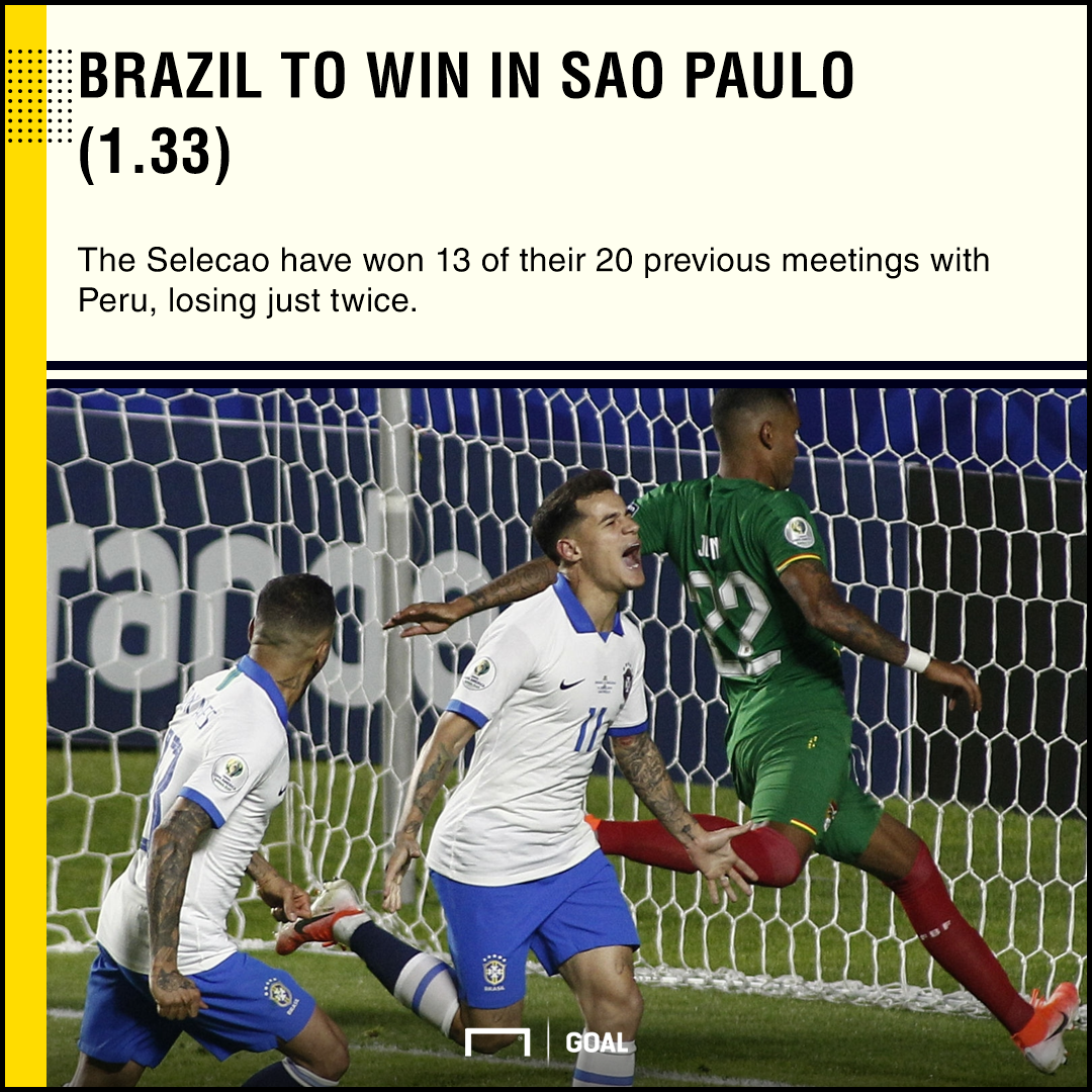 Peru 0 - 5 Brazil - Match Report & Highlights
