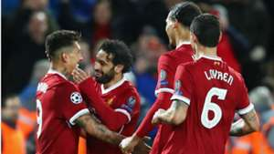 Roberto Firmino Mohamed Salah Liverpool Roma UEFA Champions League