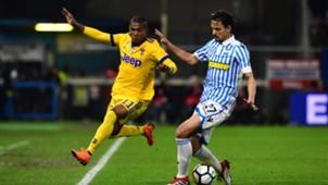 Douglas Costa Felipe Dal Bello SPAL Juventus Serie A