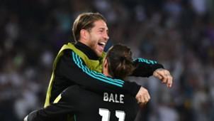 Gareth Bale Sergio Ramos Al Jazira Real Madrid Club World Cup 13122017
