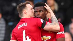 Phil Jones Paul Pogba Man Utd 2019