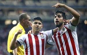 Rodolfo Pizarro, Eduardo Lopez, Chivas