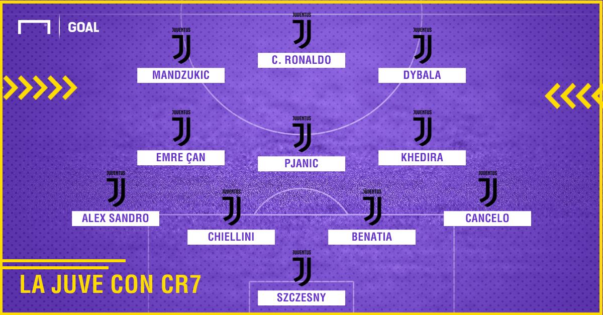 Juventus con CR7 PS ita