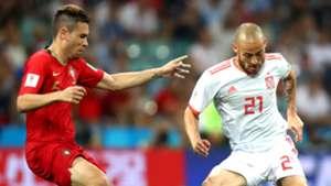 Raphael Guerreiro David Silva Portugal España Spain World Cup 15062018