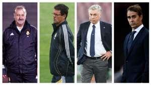 Técnicos cesados del Real Madrid