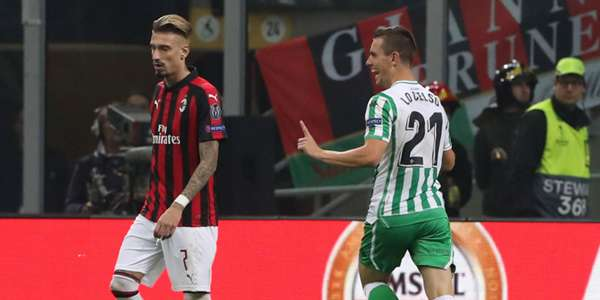 Giovanni Lo Celso Milan Betis Europa League