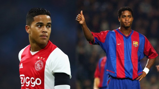 Justin Kluivert impressing at Ajax as he looks to emulate Patrick   Goal.com