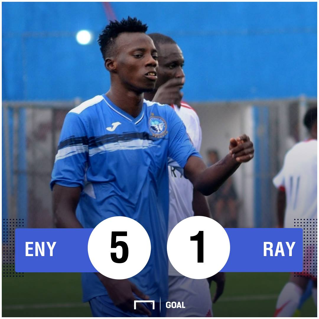 Enyimba Rayon scoreline PS