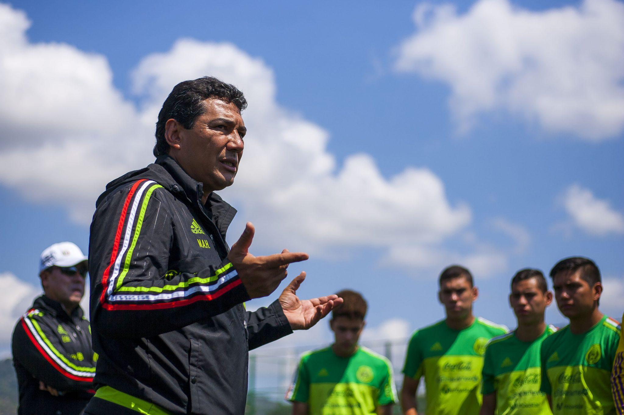 Mario Arteaga Mexico U-17 2017 Coach