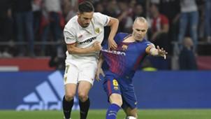Pablo Sarabia Andres Iniesta Sevilla Barcelona Copa del Rey