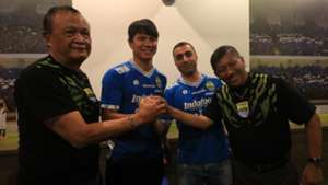 Achmad Jufriyanto - Artur Gevorkyan - Persib Bandung