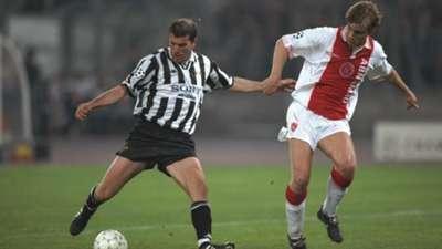 Zinedine Zidane Richard Witschge Juventus - Ajax 04231997