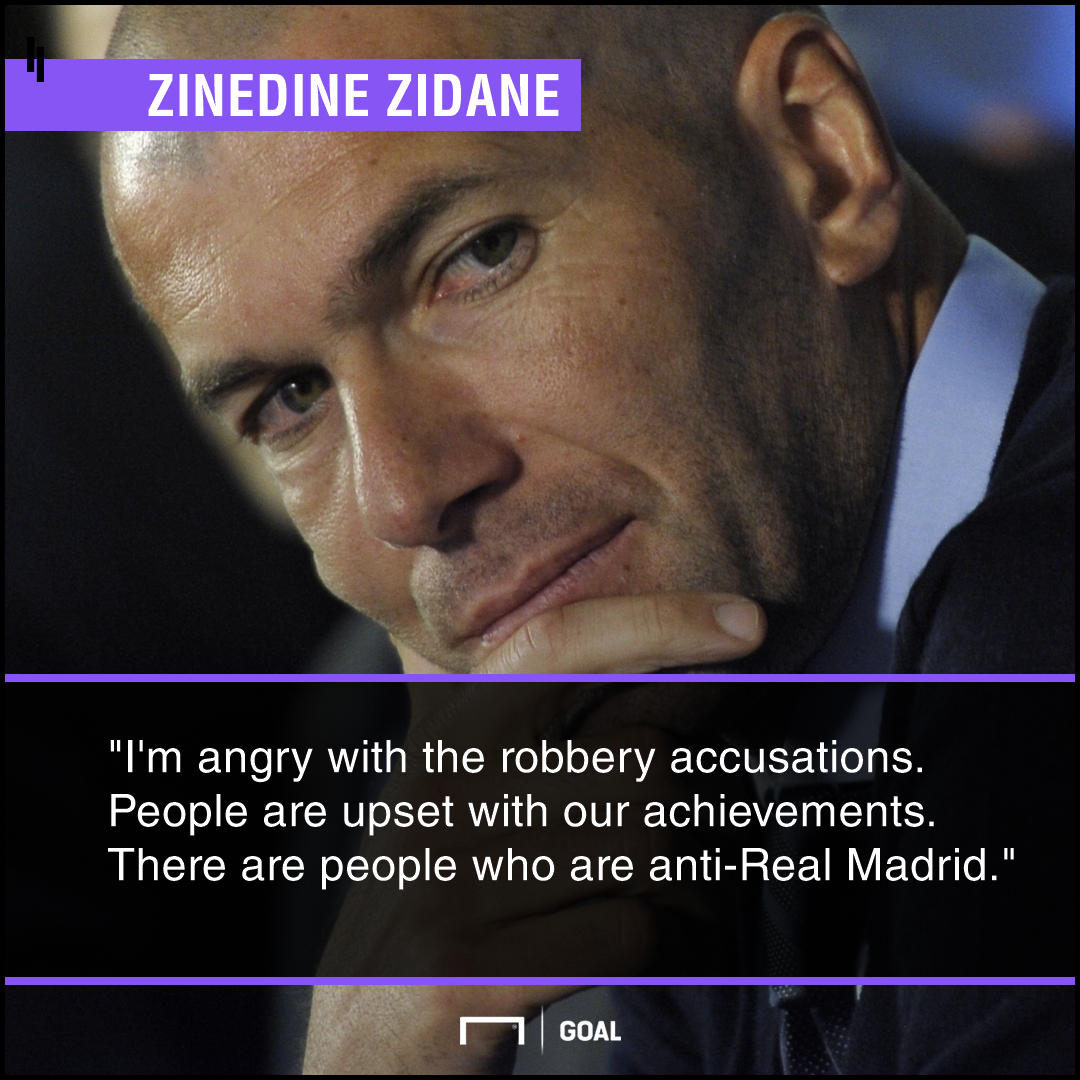 Zidane robbery quote