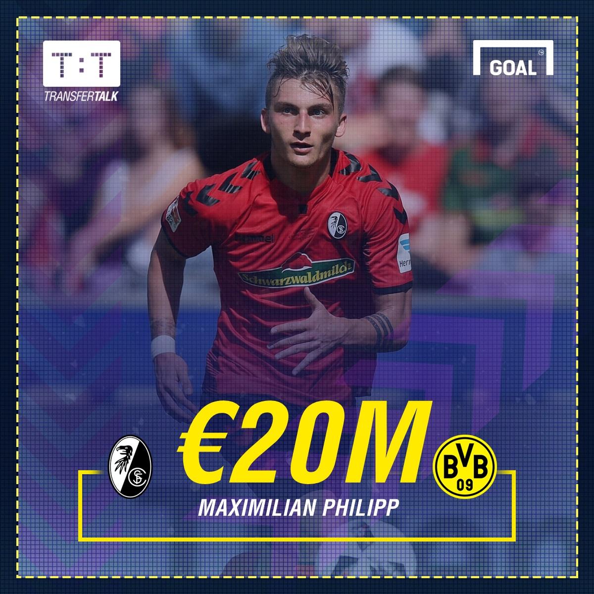 GFX Maximilian Philipp Dortmund Transfer