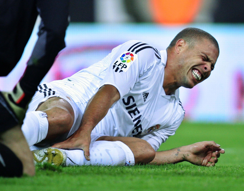 Ronaldo injury