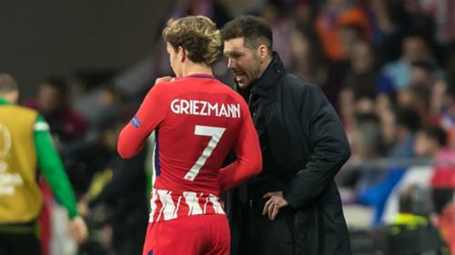 Diego Simeone Antoine Griezmann Atletico Madrid