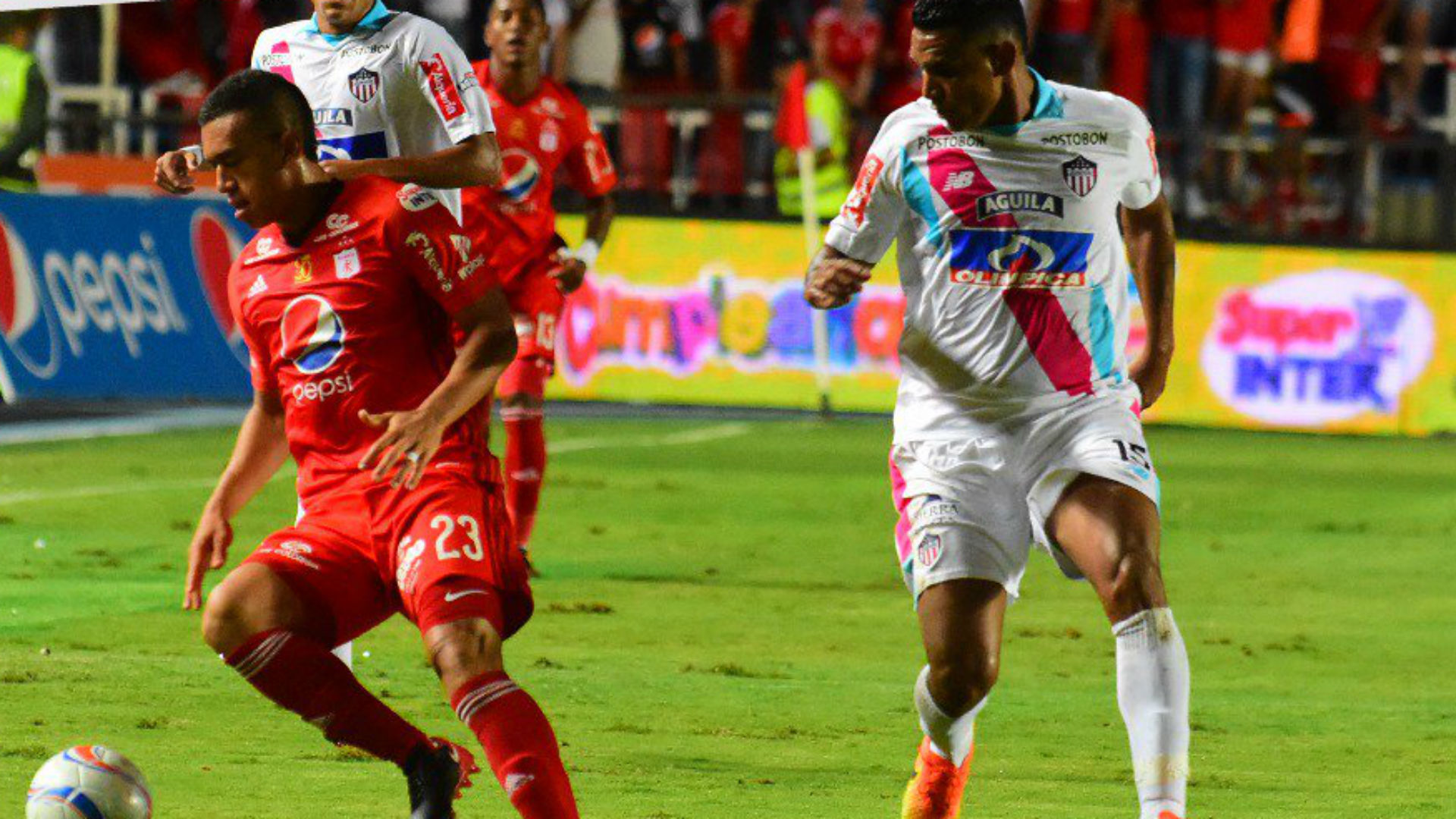 América vs Junior de Barranquilla Liga Águila 2017-II